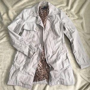 Jackets & Blazers - Strawberry trench coat khaki